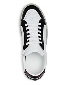 Paul Smith - Men's Color-Block Leather Lace Up Sneakers